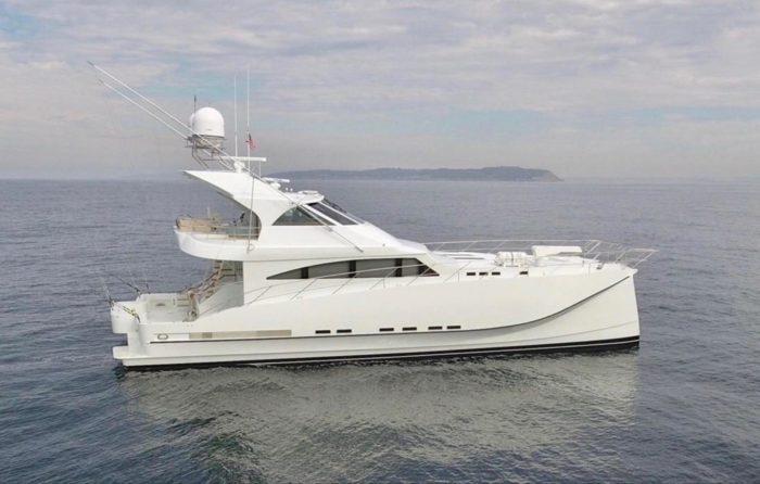 2012 Custom Yachts 75 Catamaran   Gato Blanco