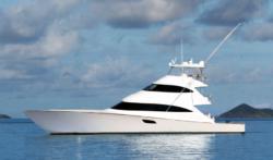 2021 Viking Yachts 92 Skybridge