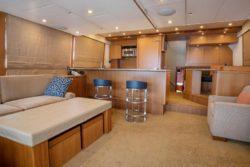 custom sportfish yacht 78 garlington sky salon