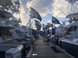 Miami Yacht Show Galati set up