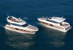 two prestige yachts