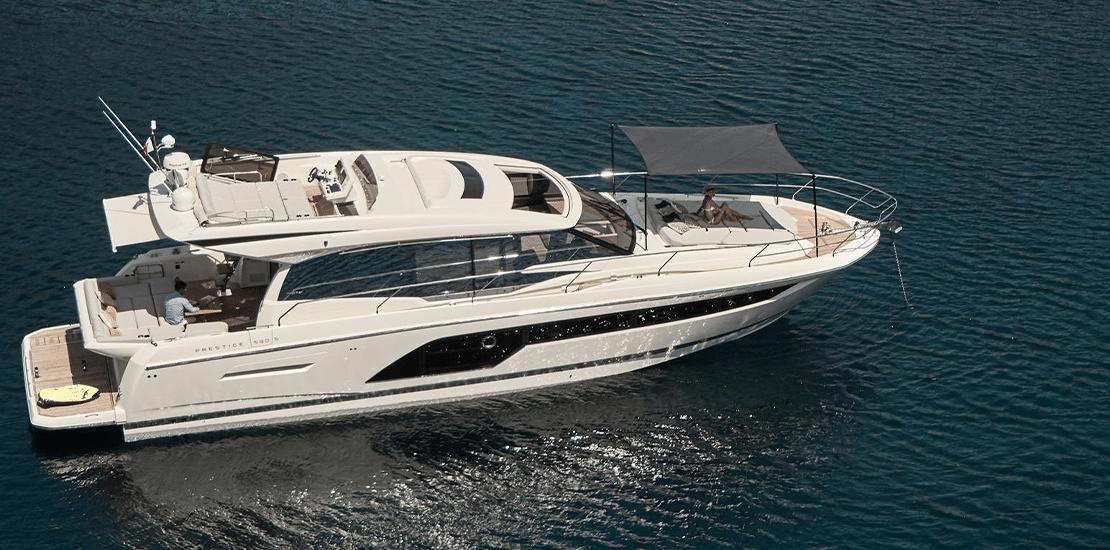 New Prestige 590S Express Yacht