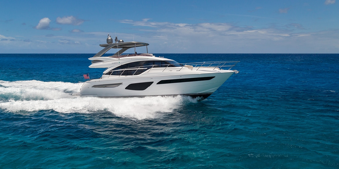 New Princess 55 Flybridge Yacht
