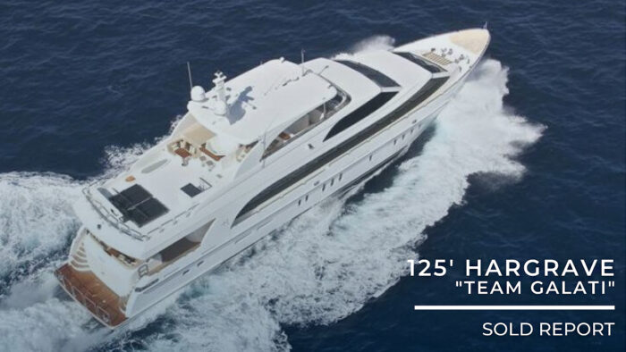 2013 Hargrave Yachts 125 Raised Pilothouse Sold Report