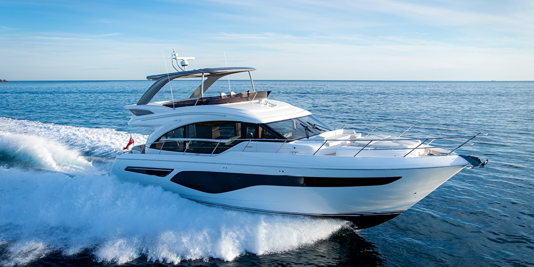New Princess 62 Flybridge Yacht