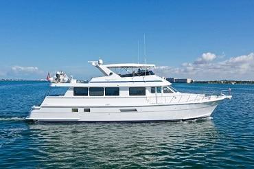 New 1999 HATTERAS 74 SPORT DECK MY Yacht