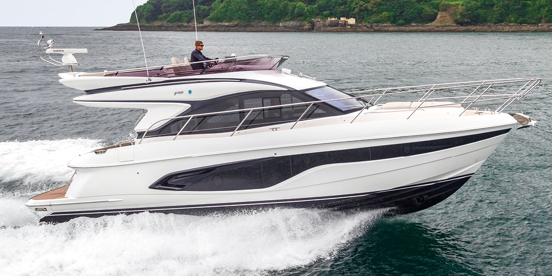 New Princess 45 Flybridge Yacht