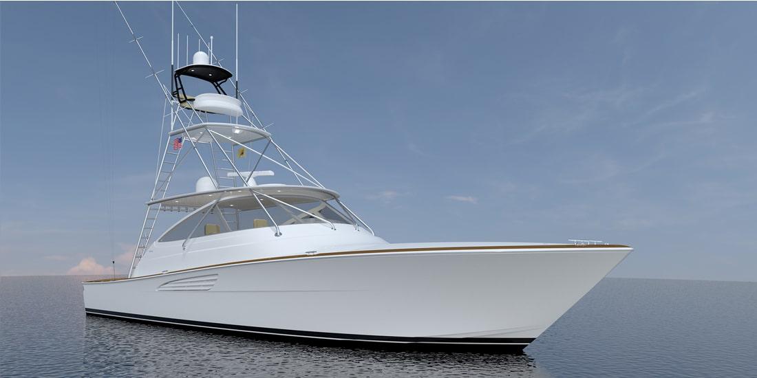 New Viking 54 Open Yacht