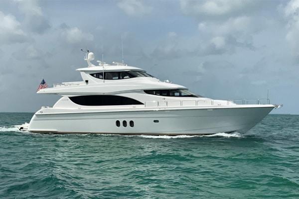New 2008 Hatteras Yachts 80 Motor Yacht Yacht