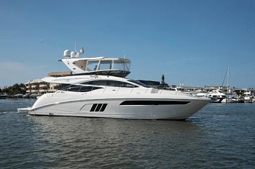 New 2016 Sea Ray Yachts 590 Flybridge Yacht