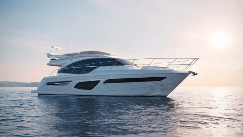 Princess 55 Flybridge yacht