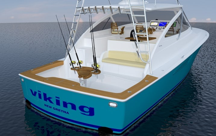 Viking Yacht 44 Open