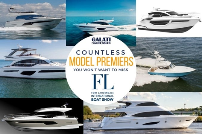model premiers at Ft Lauderdale Boat Show