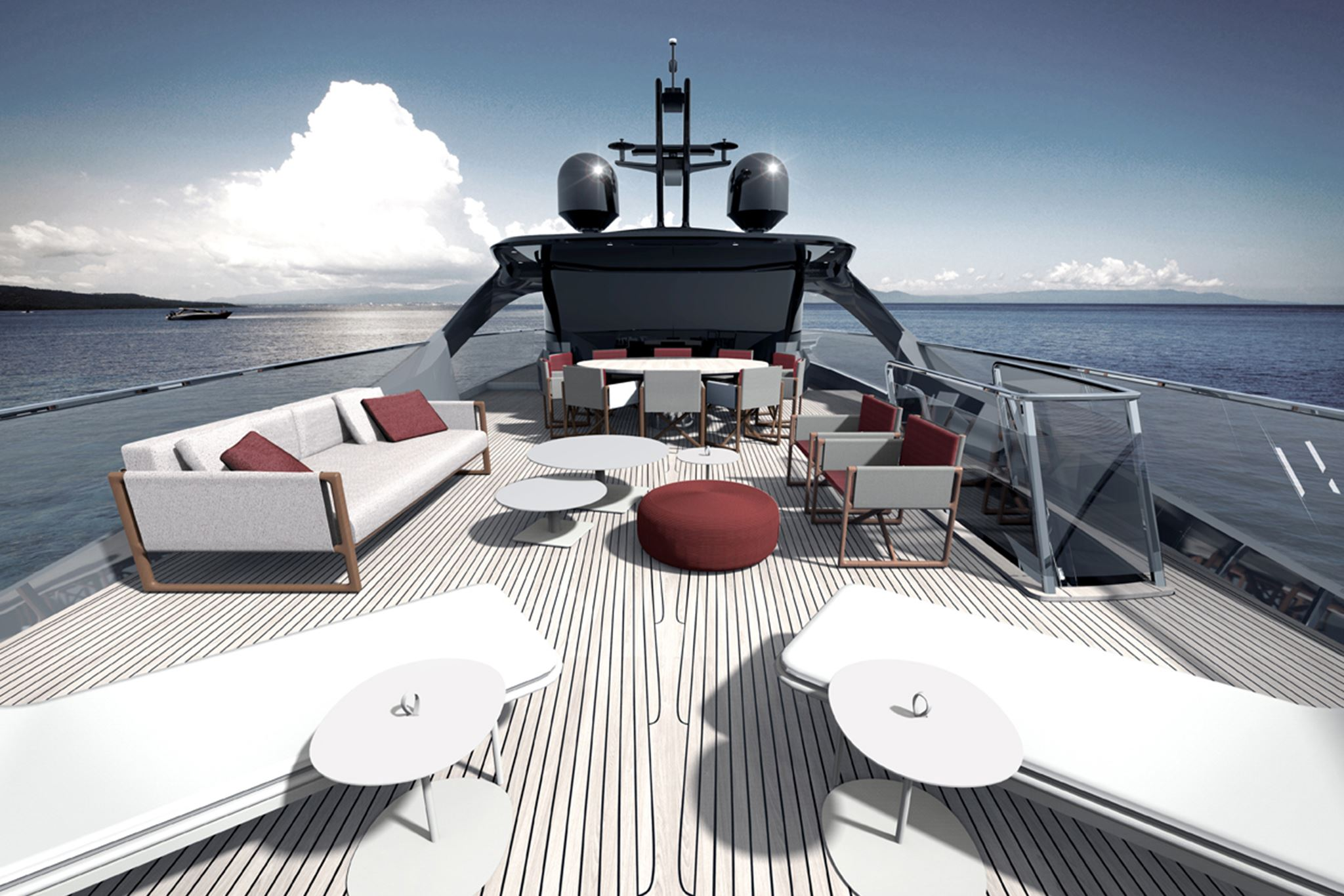 Princess Yachts X95 Upper Deck