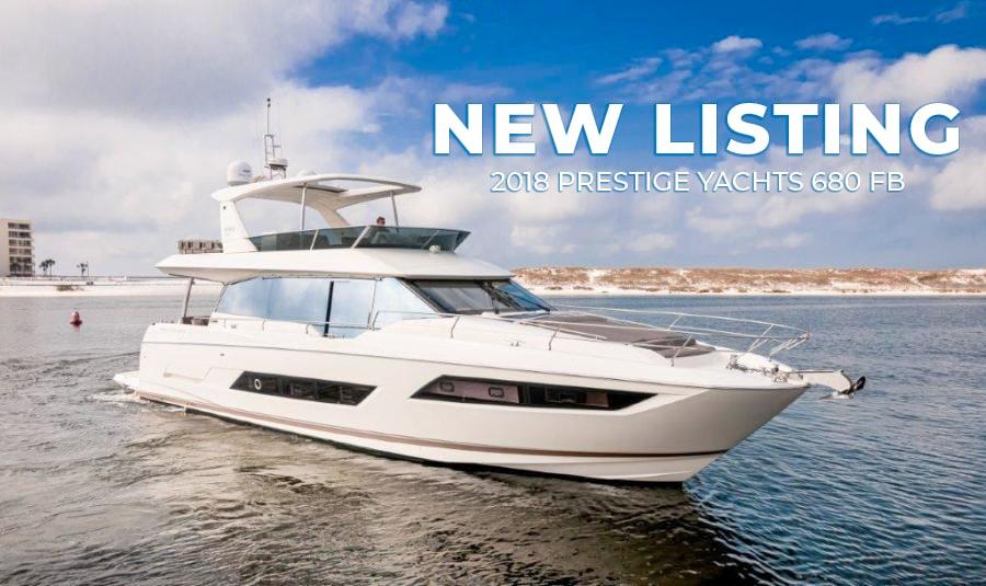 2018 680 Prestige Yachts FB GYS trade