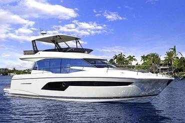 New 2018 PRESTIGE YACHTS 52 FLYBRIDGE Yacht