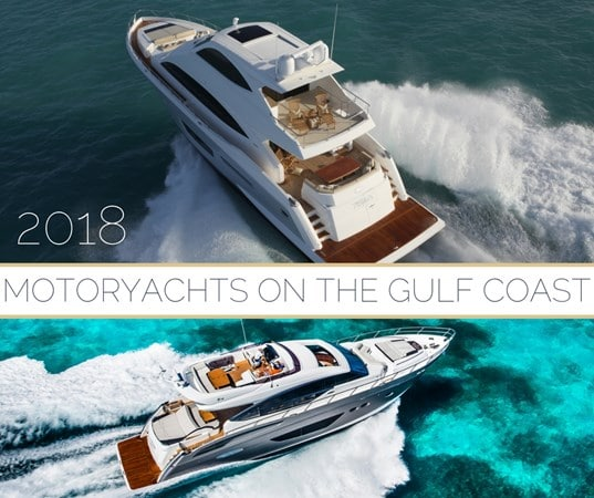 Motoryachts on the Gulf Coast event 2018