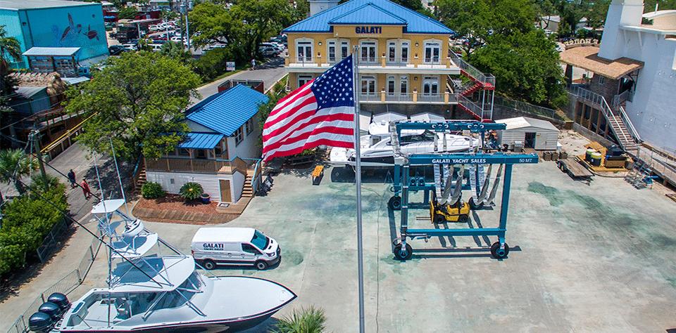 Galati Yacht service yard