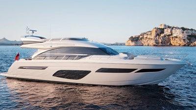 New Princess 70 Flybridge Yacht