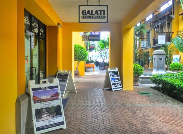 Galati Yacht Sales Costa Rica location