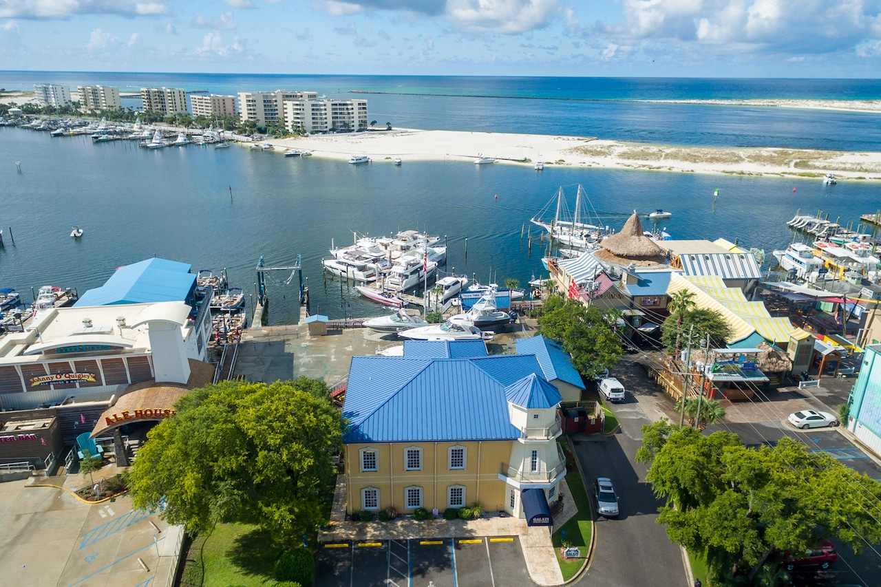 Galati Yacht Sales Destin location view