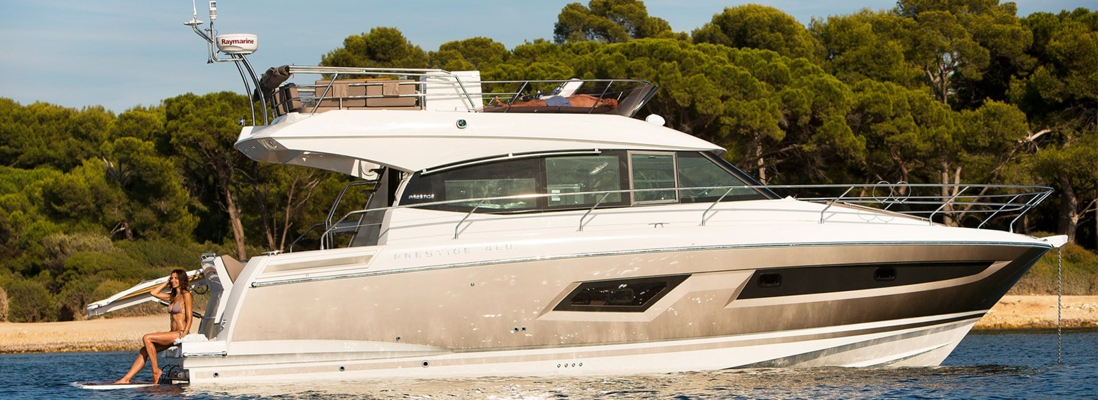 new prestige 420 flybridge yacht yacht for sale