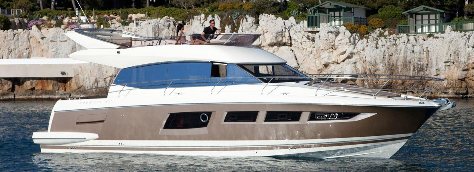 new prestige 500 flybridge yacht for sale