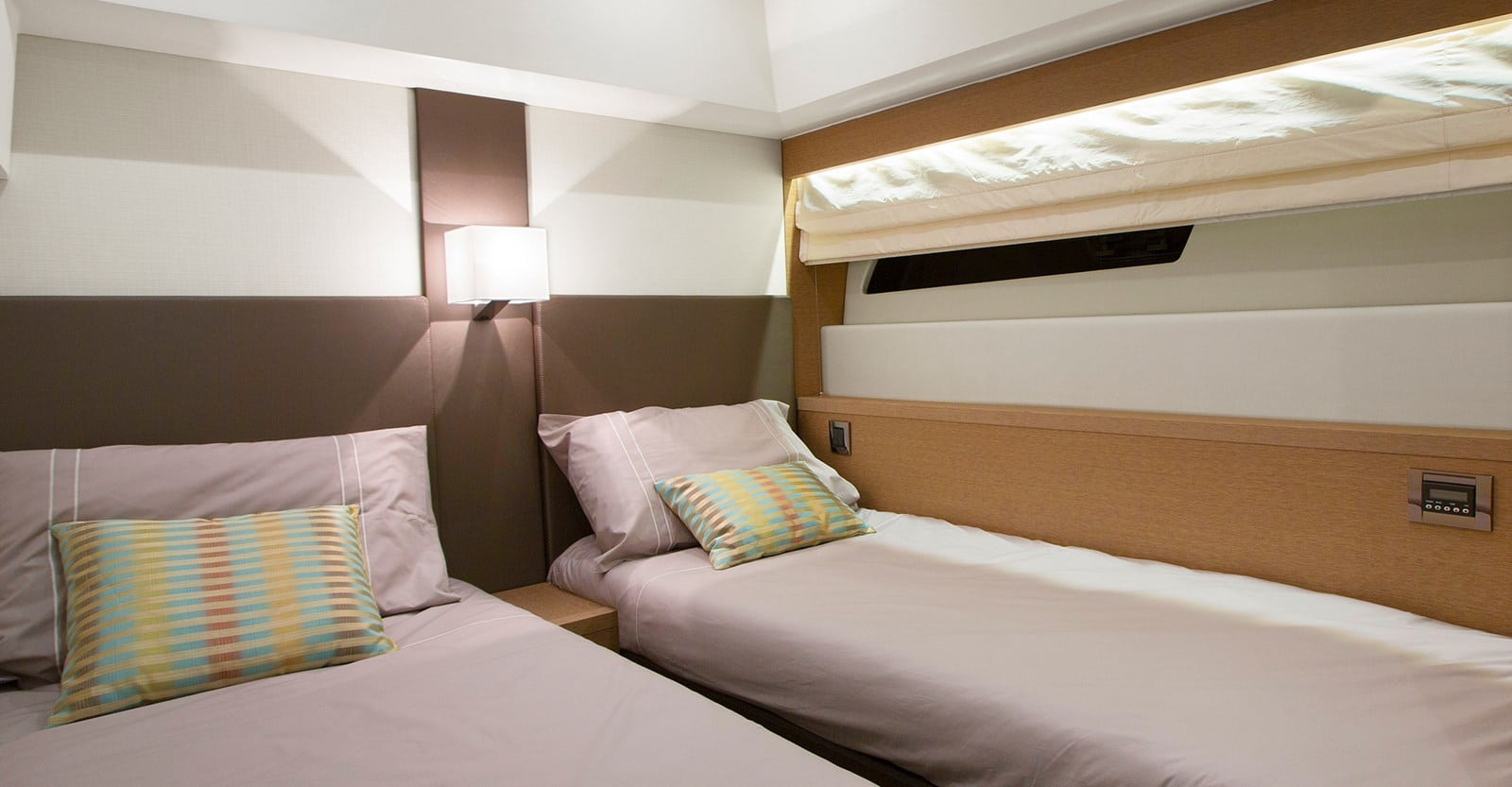 new prestige 560 yacht guest stateroom