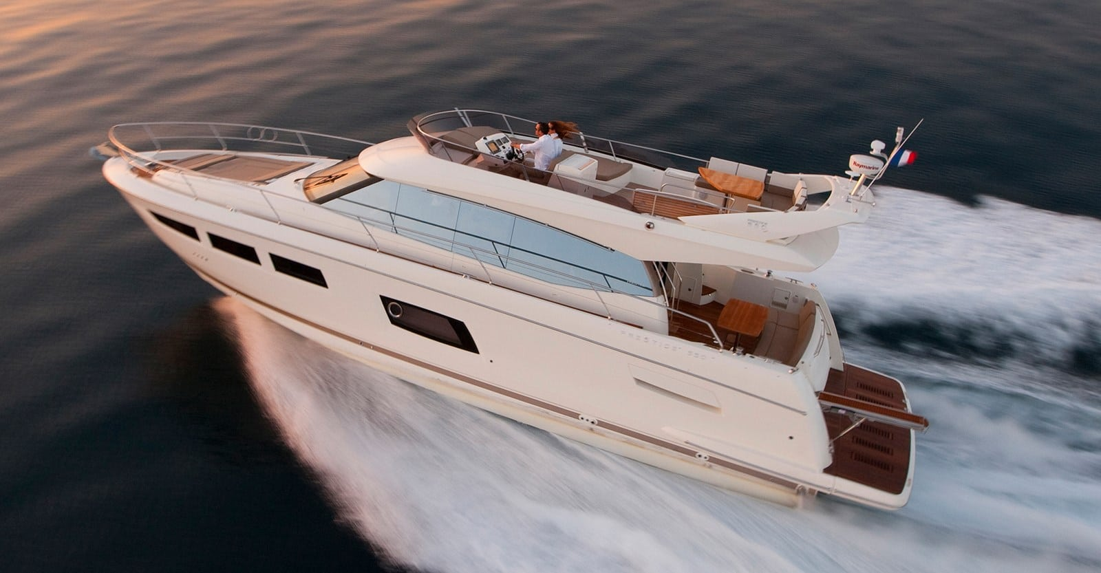 new prestige 560 yacht running