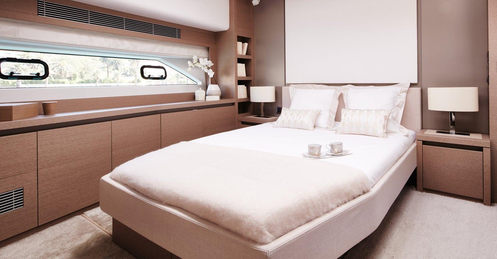 new prestige 680 yacht master stateroom