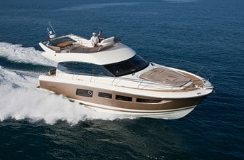 New Prestige 500 Flybridge Yacht