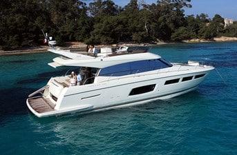 New Prestige 560 Flybridge Yacht