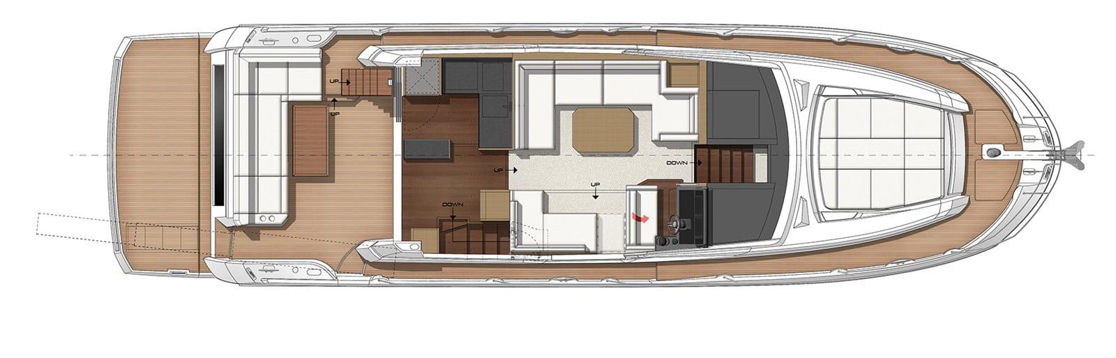 prestige yacht 520s yacht layout (1)