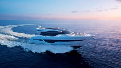 New Princess S78 Yacht