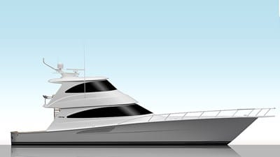 New Viking 68 Enclosed Bridge Yacht