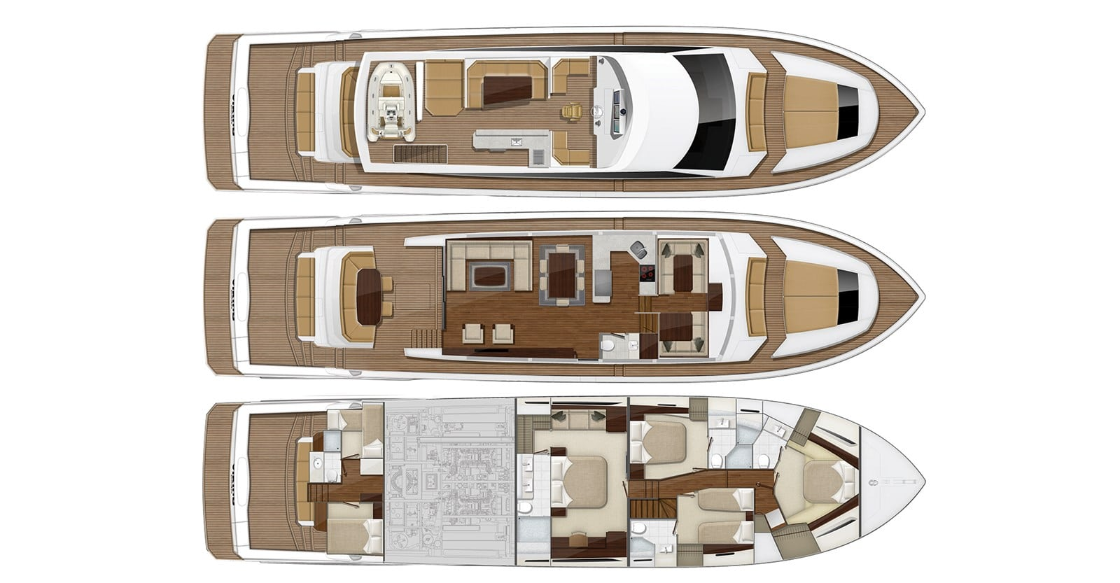 viking 82 cockpit motor yacht open bridge layout