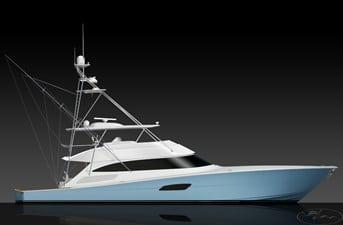 New Viking 92 Convertible Yacht