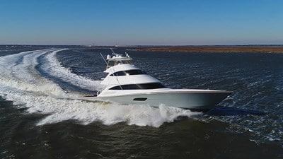 New Viking 92 Enclosed Bridge Yacht