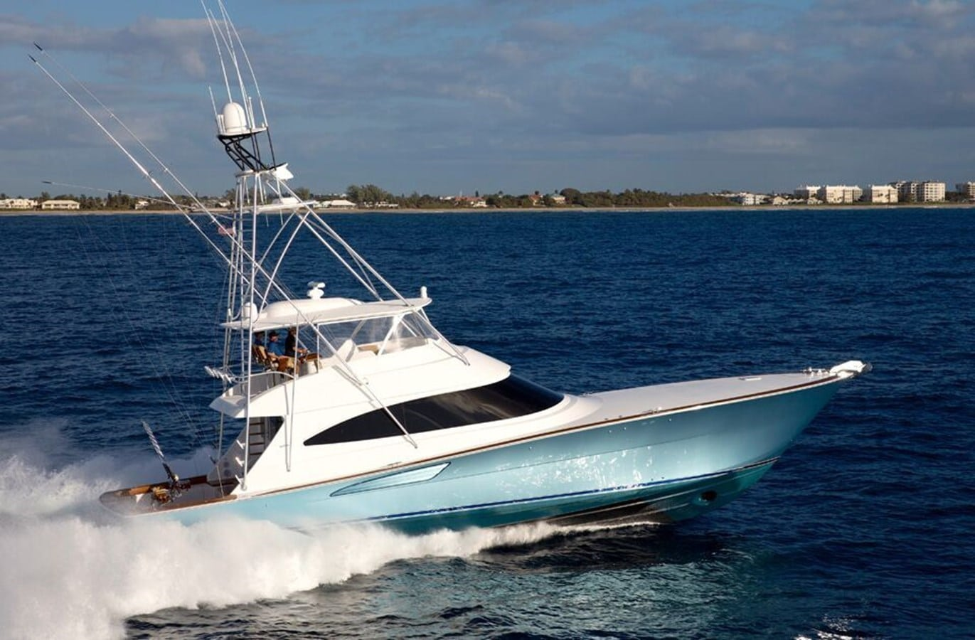 New Viking 72 Convertible  Yacht