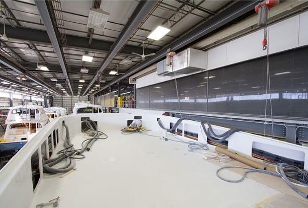 Yacht product floor