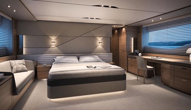 Princess S78 bedroom