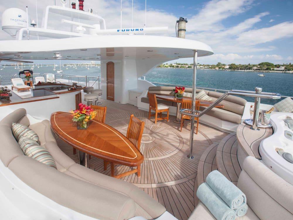 Ecellence Yacht Upper Deck