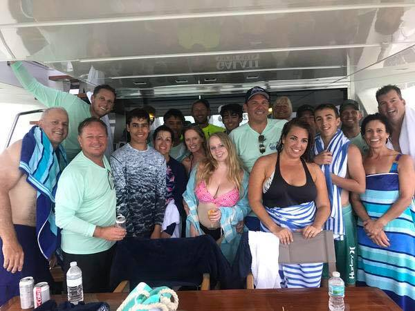 Galati Yacht Sales' annual Bahamas Rendezvous team