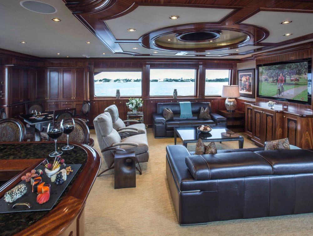 Excellence Yacht Living Room angle 2