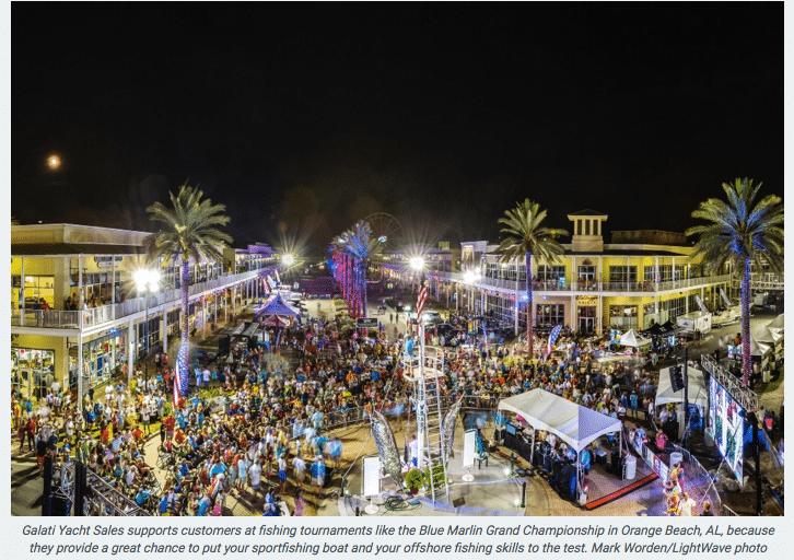 Blue Marlin Grand Championship Festivities