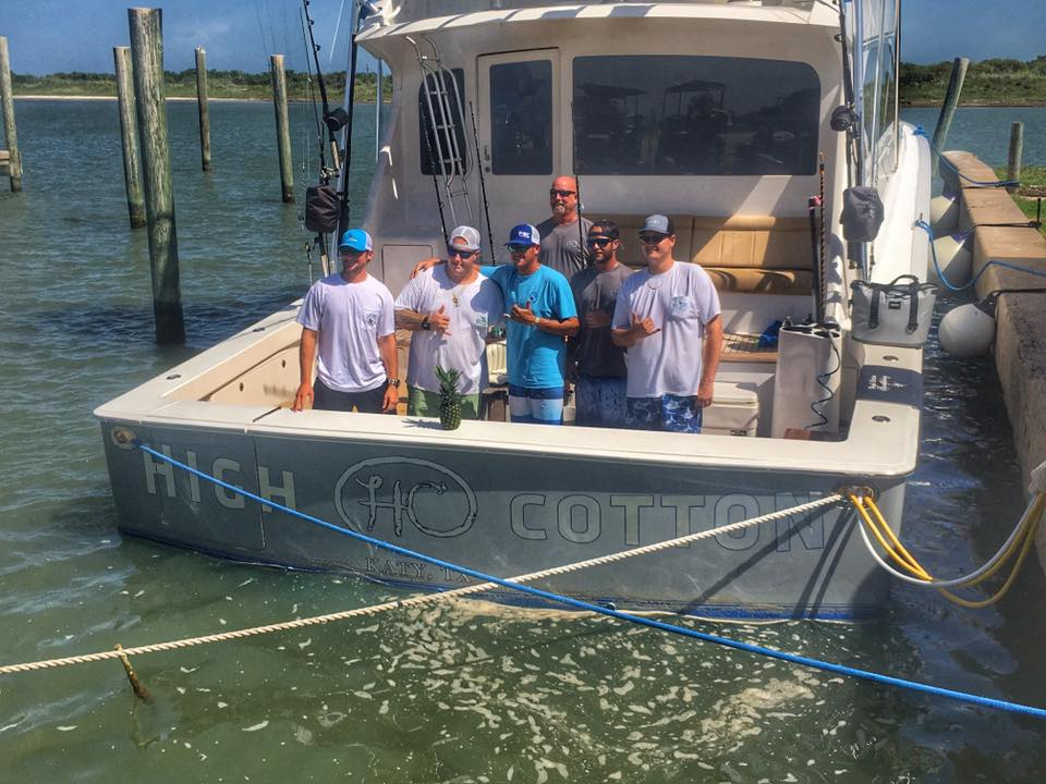 Blue Marlin Champions on boat