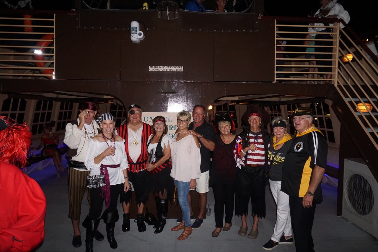 Galati Yacht Sales Team Yacht Brokers Pirate Party