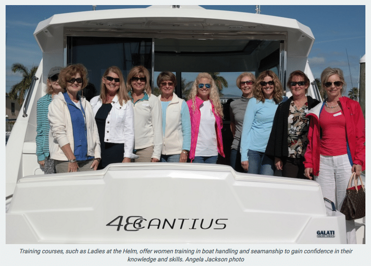 Ladies at the Helm training course