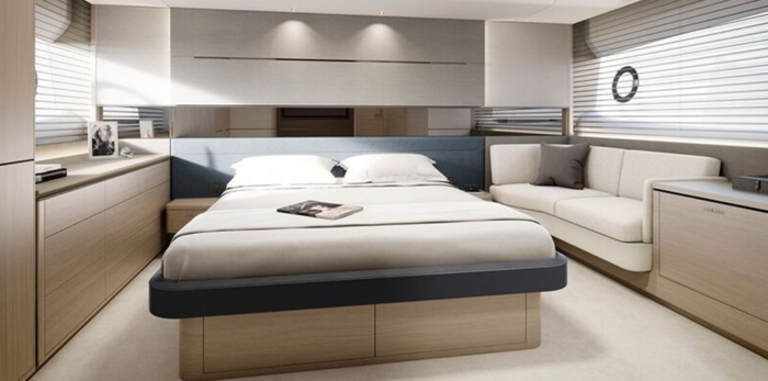 Princess Yachts S60 Stateroom