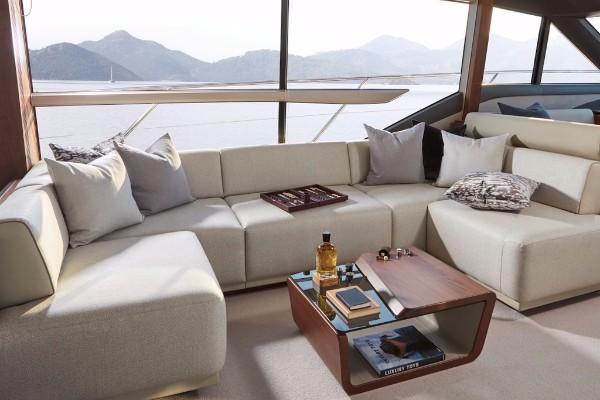 Princess Yacht 62 Living Room
